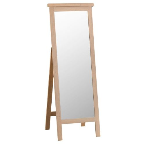 Oakham Washed Cheval Mirror